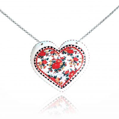 Drevený náhrdelník Vanessa