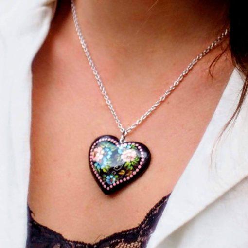 Súprava šperkov Srdce Letné kytice