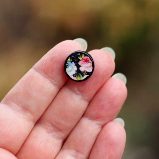 Náušnice kvety Veronika Puzetky
